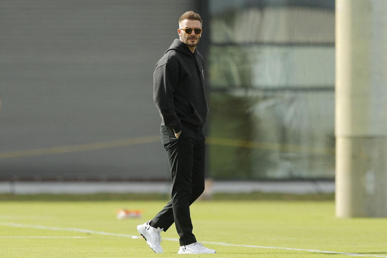 David Beckham ejer Inter Miami CF. Michael Reaves/Ritzau Scanpix