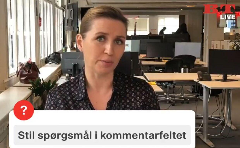 Mette Frederiksen svarede mandag på B.T.-læseres spørgsmål.
