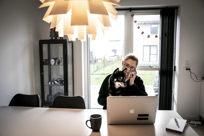 Under coronapandemien er en stor del af danskerne begyndt at arbejde hjemmefra. (Arkivfoto)