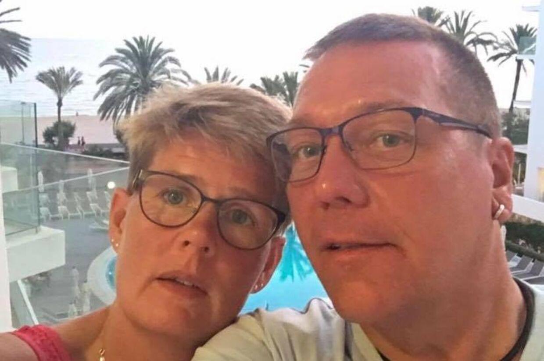 Annette og Søren på en ferie