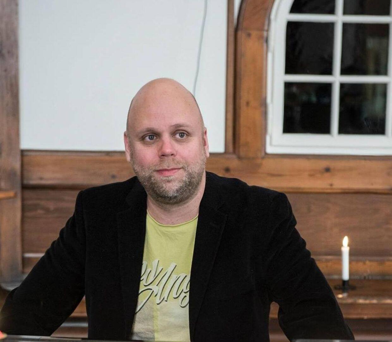Stefan Nielsen i dag.