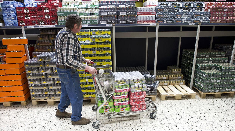 Der har været færre kunder i Fleggaard det seneste år.