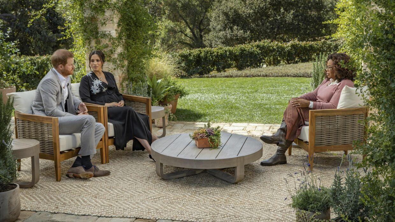 Interviewet med Harry og Meghan vises søndag 7. marts klokken 20.00 lokal tid på CBS. Joe Pugliese/Ritzau Scanpix