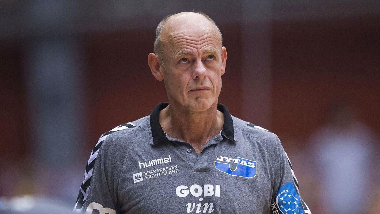 Erik Veje Rasmussen er en mand med mange talenter. Håndboldtræneren og landsholdslegenden er nu sprunget ud som kunstmaler. Arkivfoto.