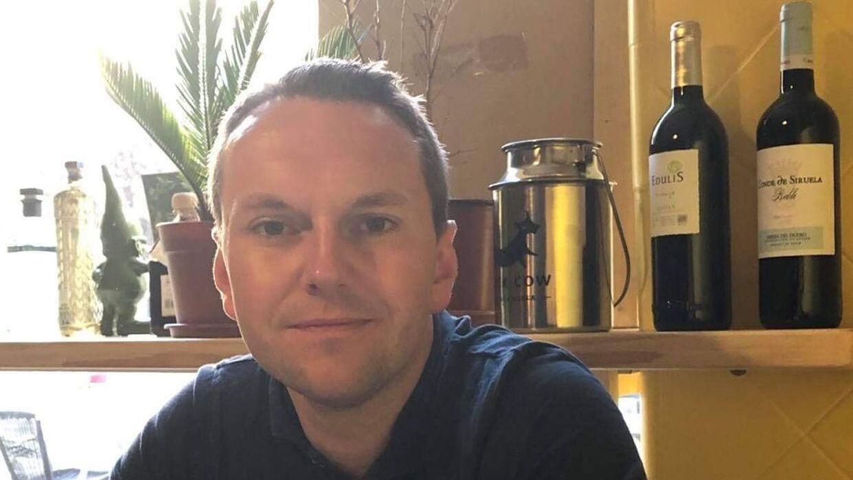 Danske Joakim Kristensen er sammen med sin kone og tre børn bosat i Gibralta.