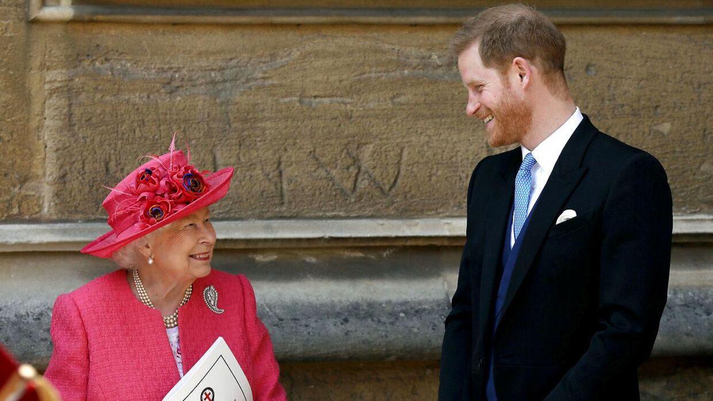 Balladen kan ødelægge forholdet mellem prins Harry og hans farmor, dronning Elizabeth.