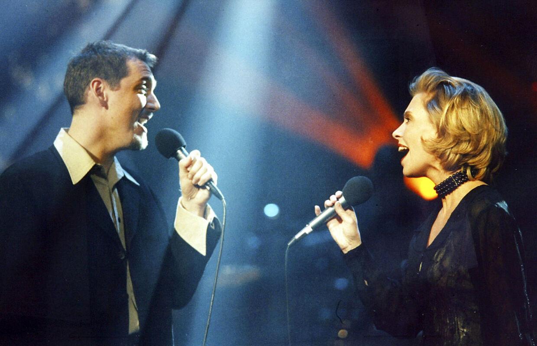 Martin Loft og Dorthe Andersen, der i 1996 vandt Dansk Melodi Grand Prix med 'Kun med dig'.