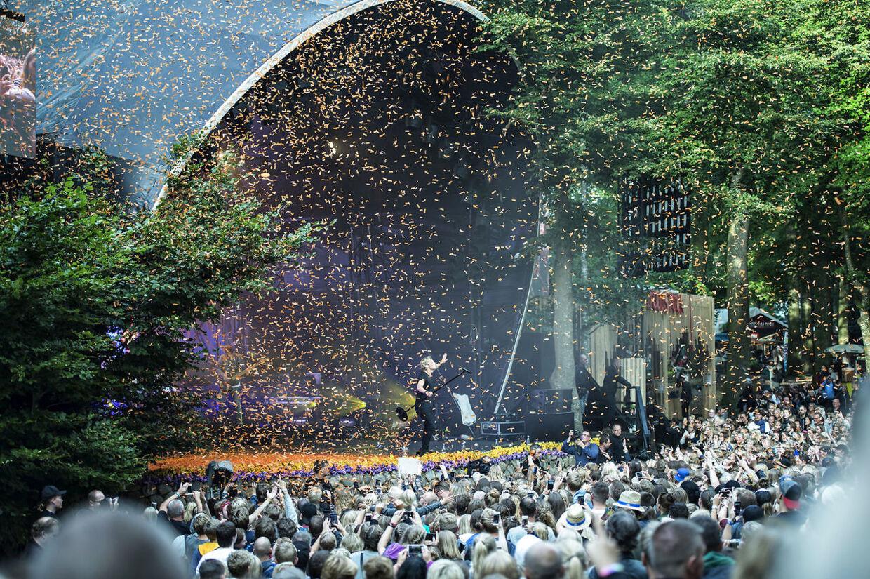 Smukfest 2016: Christoffer på Bøgescenen.