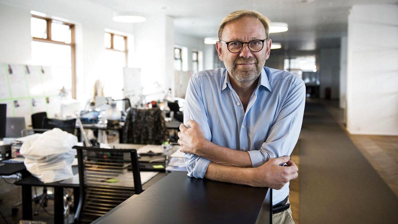 Michael Dyrby er ansvarshavende chefredaktør på B.T. (Foto: Scanpix)