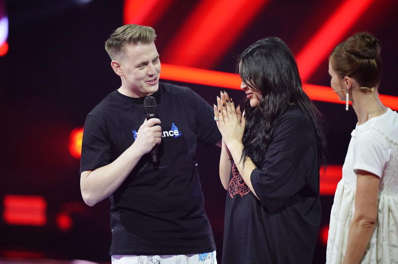 X Factor Liveshow 2021 i Brøndby fredag den 5. marts 2021. X Factor sendes på TV2. **Pool-dækning leveret af Ekstra Bladet: Materialet kan anvendes vederlagsfrit til redaktionel omtale af programmet**