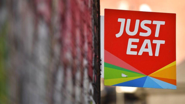 Omsætningen for Just Eat steg med 54 procent i 2020.