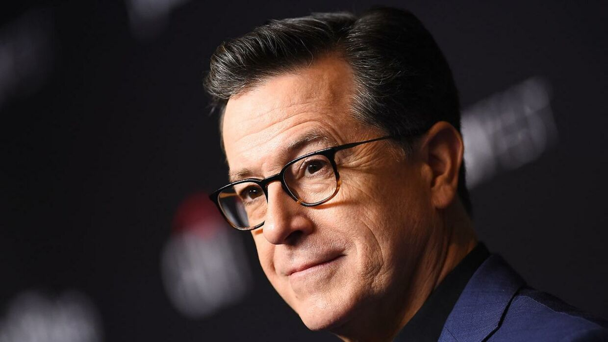 "US comedian Stephen Colbert arrives at the PaleyFest presentation of ""An evening with Stephen Colbert"" at the Dolby theatre on March 16, 2019 in Hollywood, California. VALERIE MACON / AFP"