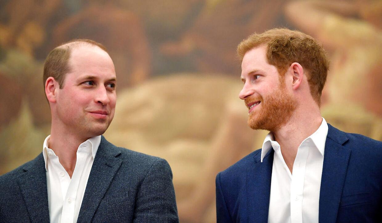 William og Harry var engang meget tætte. Det er de ikke længere.
