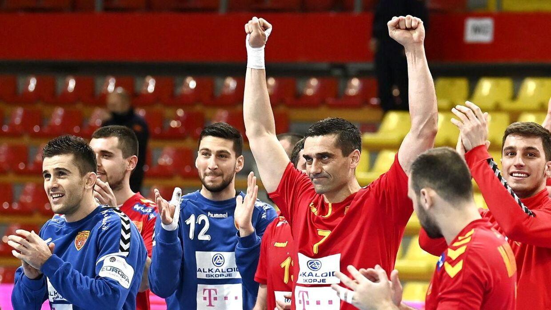 Den makedonske legende Kiril Lazarov fik en drømmedebut som spillende landstræner med sejren over Danmark.