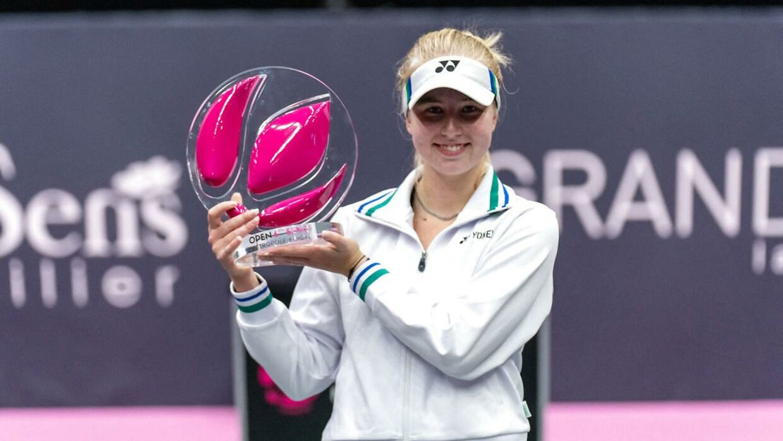 Clara Tauson vandt for nylig sin første WTA-turnering i karrieren, da hun strøg til tops i Lyon.