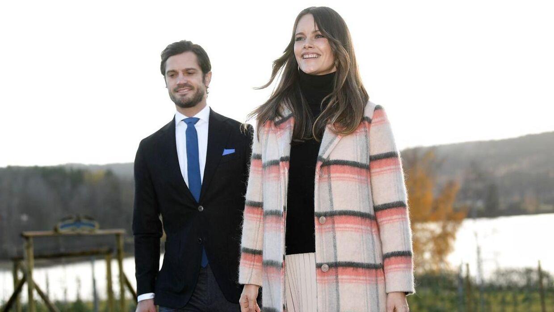 Prins Carl Philip og prinsesse Sofia. Billedet her er fra 28. oktober 2020.