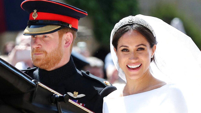 Prins Harry og hertuginde Meghan blev gift i maj 2018.