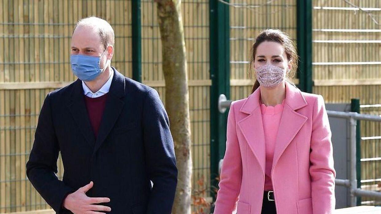 Prins William kommenterede kort sagen torsdag.