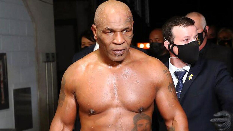 Mike Tyson er klar til en ny kamp i ringen.