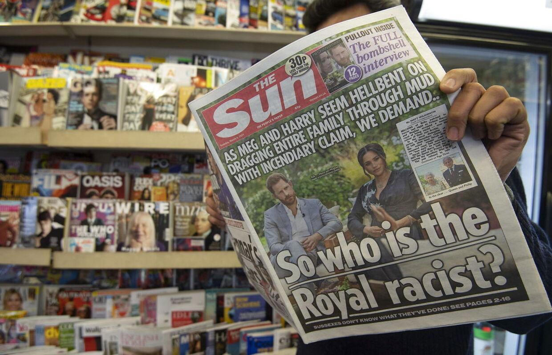Prins Harry har tidligere stævnet The Sun i retten, fordi han mener, mediet har aflyttet hans telefon.