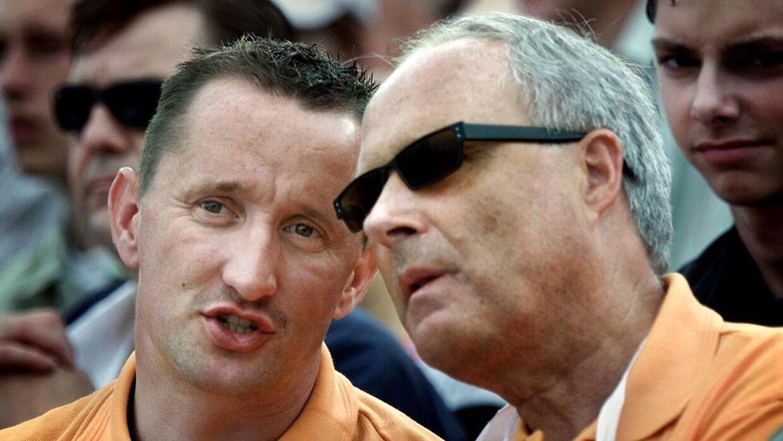 Flemming Østergaard satte en stopper for Jesper Skibbys stofmisbrug, da den tidligere cykelrytter var ansat i Parken.