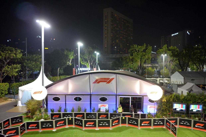 Formel 1s transportable on-site tv-center afløses af en fjernstyret produktion fra England
