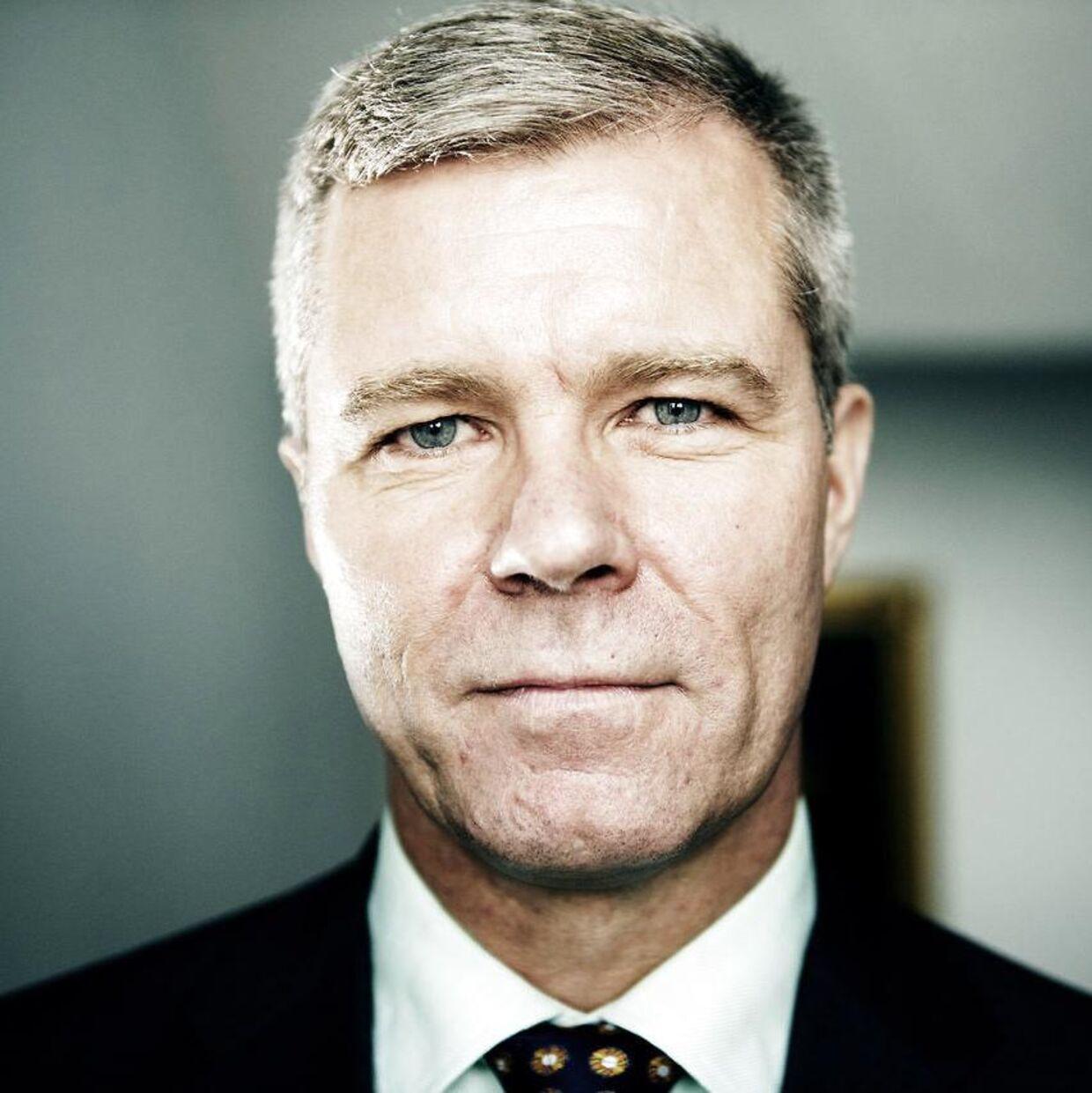 Dronningens ceremonimester Kim Kristensen, som fra 1. april skal være hofmarskal.
