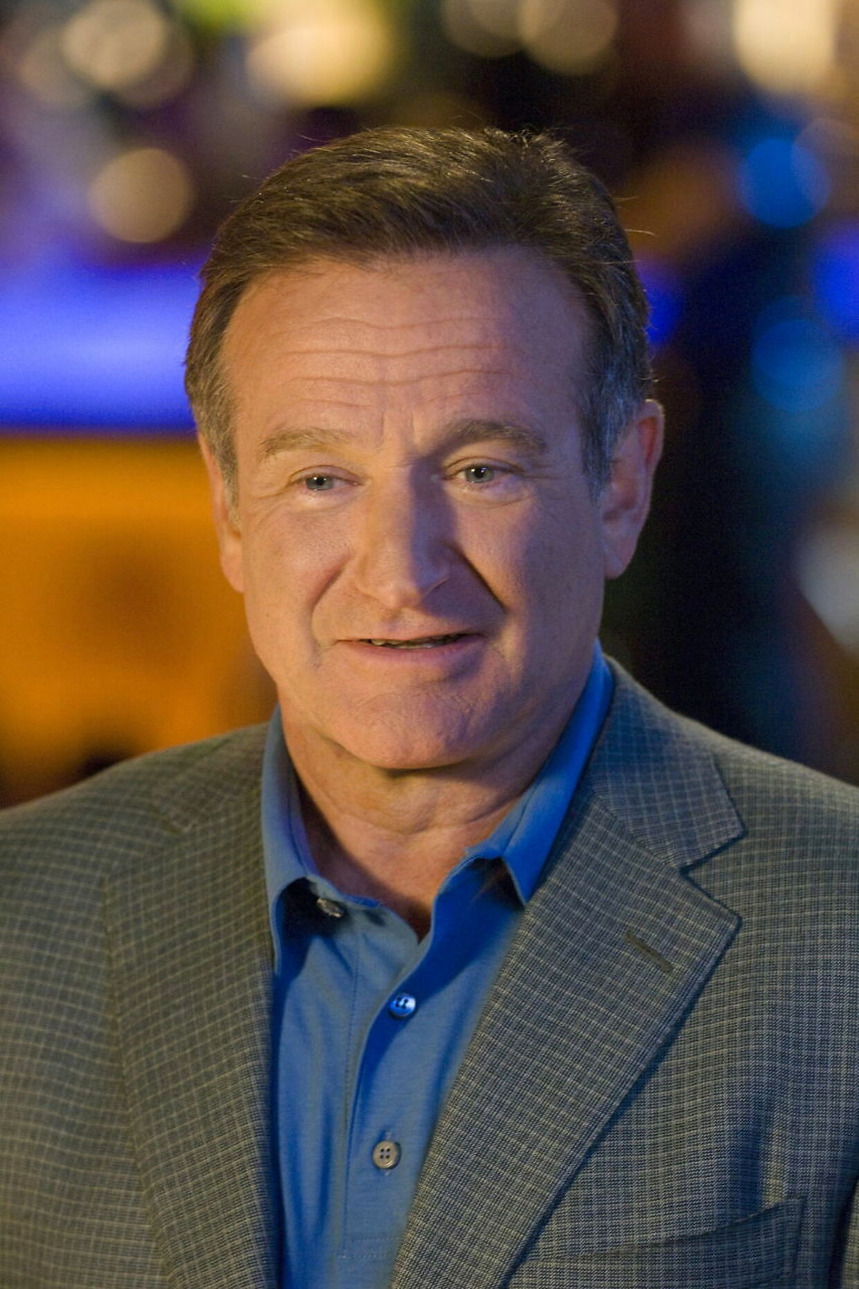 Robin Williams døde i sit hjem 11. august 2014.