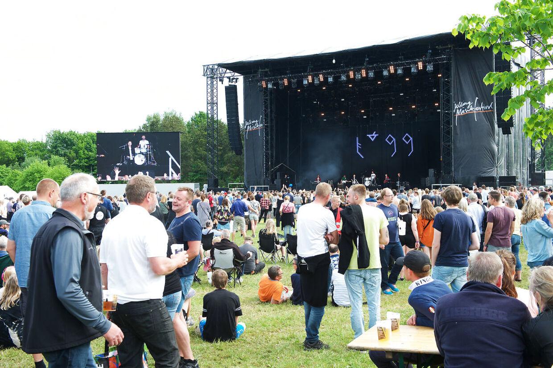 Jelling Musikfestival er skudt i gang torsdag 26. maj 2016. Festivalen strækker sig frem til 29. maj. Jelling Musikfestival 2016. (Foto: Fotograf Sonny Munk Carlsen/Scanpix 2016)