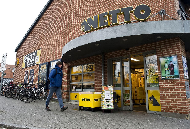 Nye billeder af Dansk Supermarked butikker tirsdag 7. januar 2013. Salling overtager Dansk Supermarked fra Mærsk her Netto i Aarhus centrum.