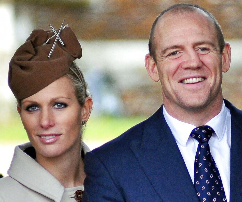 Zara Philips og hendes mand, Mike Tindall.