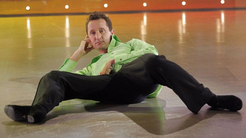 Den tidligere cykelrytter Jesper Skibby på dansegulvet i TV2's underholdningsprogram 'Vild Med Dans'.