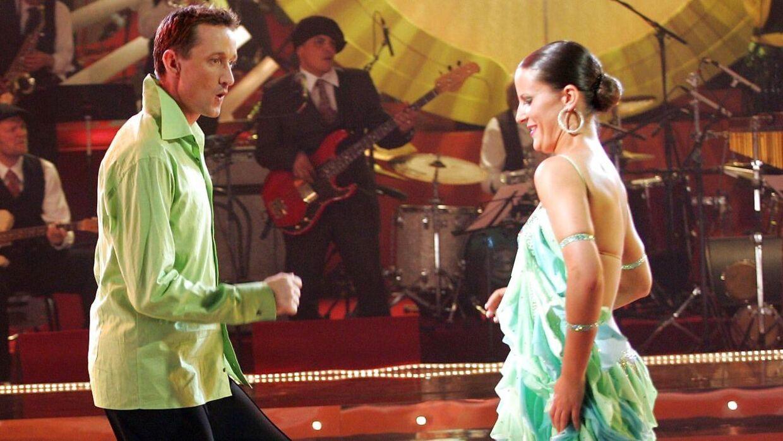 Jesper Skibby nåede til finalen med Julia Petrovic i 'Vild med Dans'.