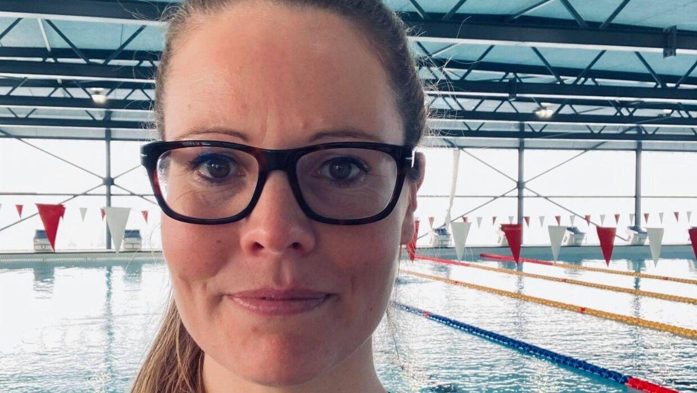 Camilla Nordhald er formand i Vordingborg Svømmeklub. Under coronapandemien har de oplevet en kraftig nedgang i medlemstallet.