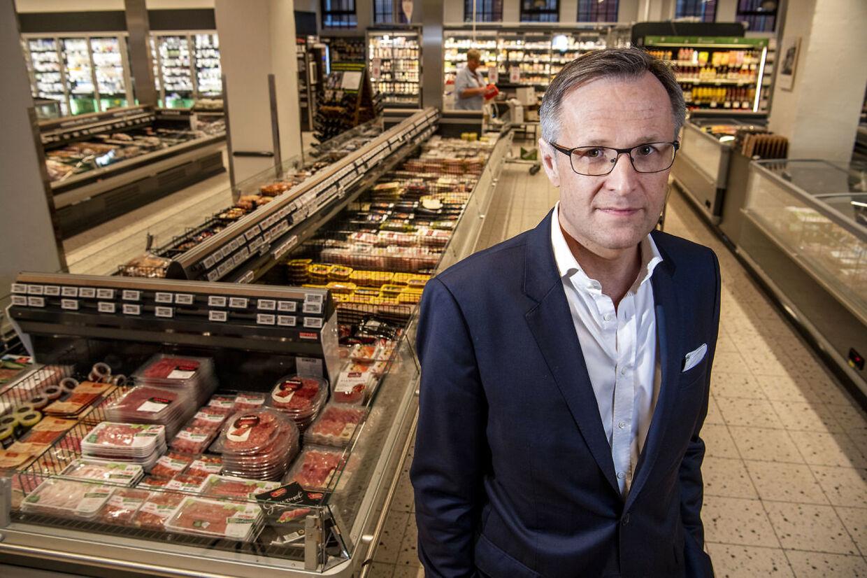 Tomas Pietrangeli, koncernchef for Dagrofa. Her er han i Meny i Nordhavn.