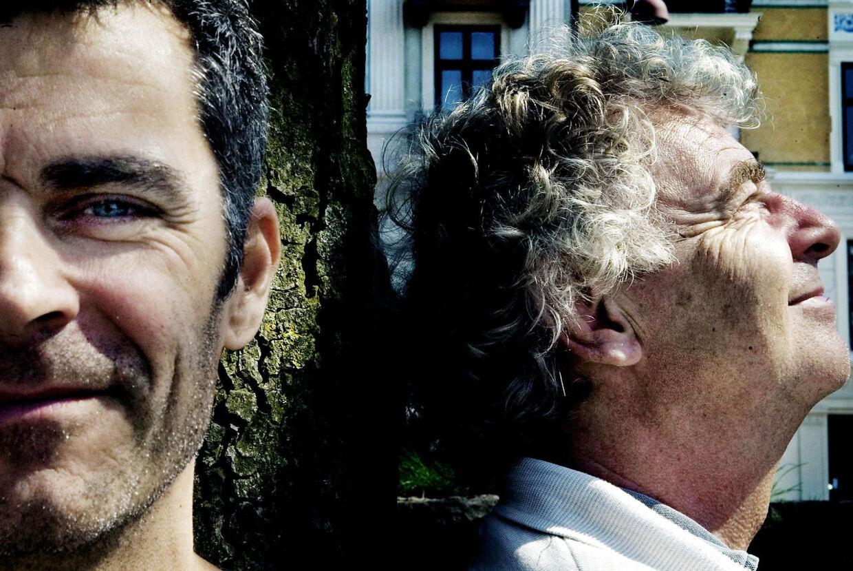Jan Rørdam har arbejdet sammen med mange. Her ses han side om side med salig Michael Bundesen.