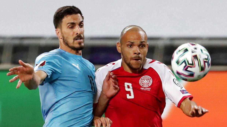 Der var historisk få, der så med, da Danmark vandt VM-kvalifikationskampen over Israel med 2-0.