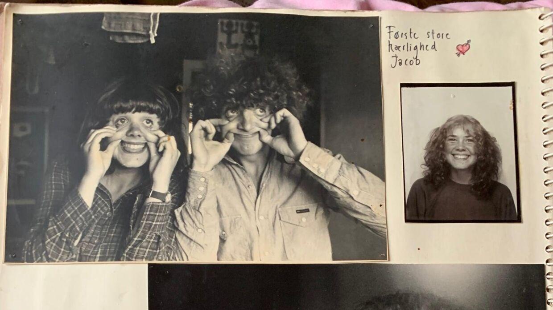 Joan Ørting og Jacob Andersen var hinandens første store kærlighed. Foto: Joan Ørting