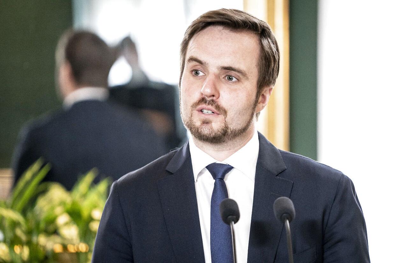Erhvervsminister Simon Kollerup.