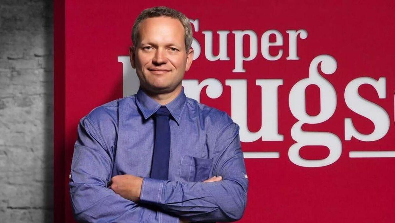 Jakob Ring er brugsuddeler i SuperBrugsen i Hinnerup.