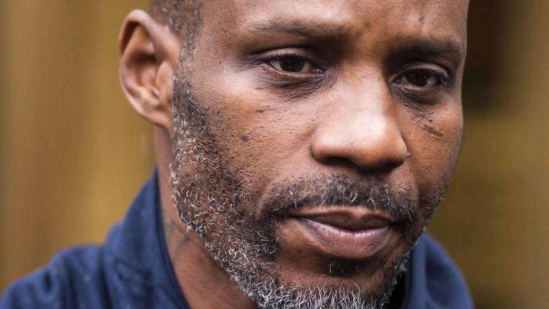 Earl Simmons, kendt som DMX, er ifølge mediet TMZ i kritisk tilstand på grund af en overdosis. AFP PHOTO / DOMINICK REUTER