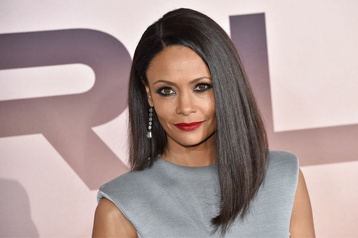"British actress Thandie Newton arrives for the Los Angeles season three premiere of the HBO series ""Westworld"" at the TCL Chinese theatre in Hollywood on March 5, 2020. Chris Delmas / AFP"