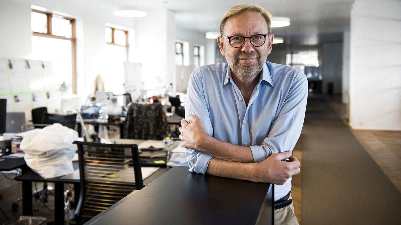 Portræt af Michael Dyrby, ansvarshavende chefredaktør på B.T.