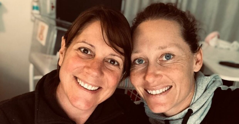 Samantha Stosur og Liz blev forældre første gang i juli 2020.