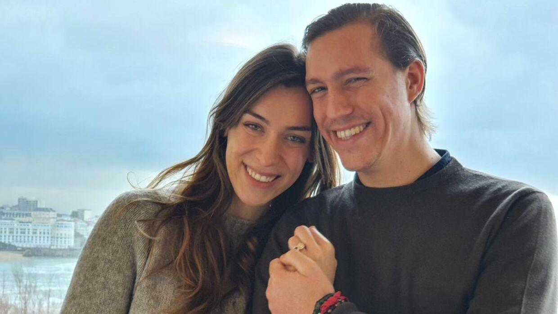 Prins Louis og hans kommende hustru, Scarlett-Lauren Sirgue.