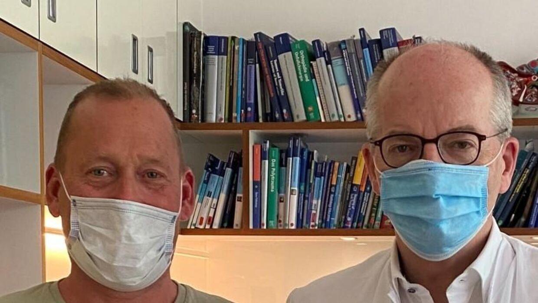 Det er professor Thomas Vogl i Frankfurt, der står for Henrik Dam Lykkes behandling.