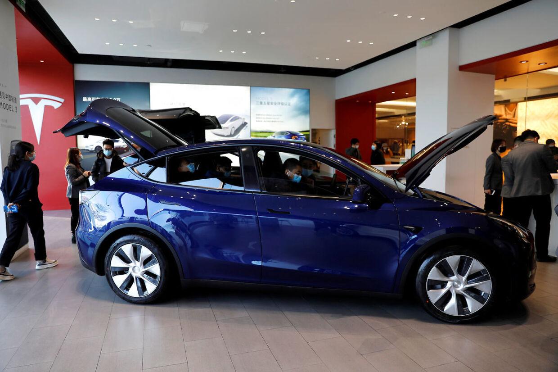 Tesla Model Y kommer til Danmark til efteråret.