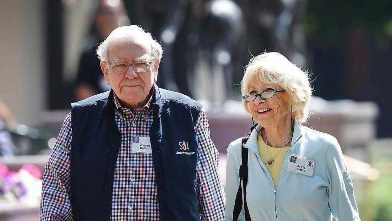 Warren Buffett blev i 2006 gift med Astrid.