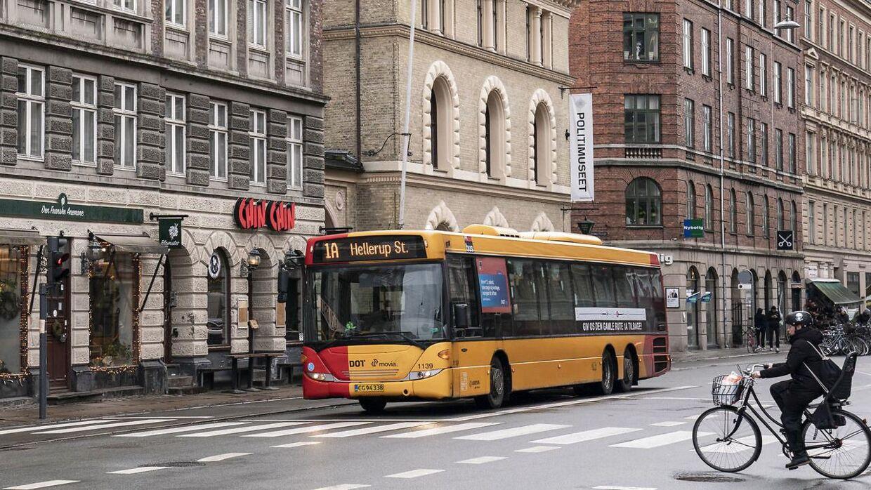 Movia bus 1A. (Foto: Niels Christian Vilmann/Ritzau Scanpix)