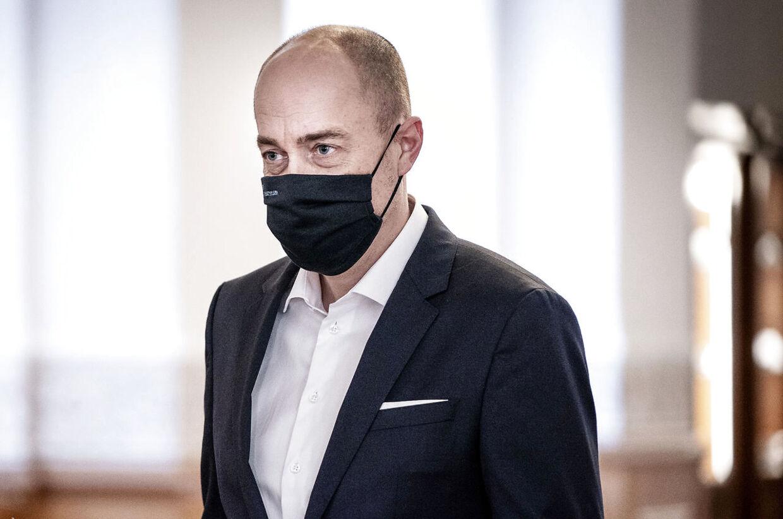 Sundhedsminister Magnus Heunicke (S) forholder sig til rapport om kræftbehandlingerne under coronakrisen.
